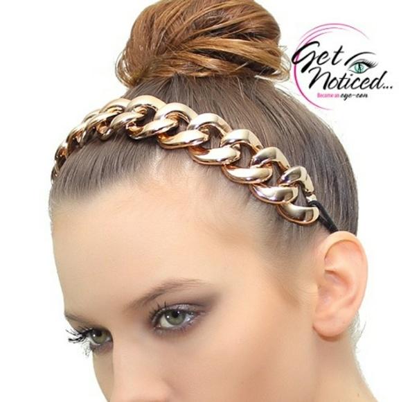 Goddess Adjustable Size Chain Headband 8285ae15538